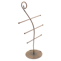 Iron Bracelet Display, antique copper color plated, nickel, lead & cadmium free, 152x260x85mm, Sold By PC