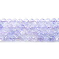 Crackle Quartz Beads, Round, different size for choice, light purple, Hole:Approx 1mm, Sold Per Approx 15.5 Inch Strand