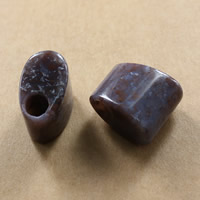 Naturliga indiska agat pärlor Indian Agate 20x21x13mm Hål:Ca 7-7.5mm 10PC/Lot Säljs av Lot