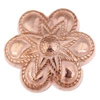Koraliki Biżuteria akrylowe, Akryl, Kwiat, oryginalny kolor, 26x24x11mm, otwór:około 1mm, około 150komputery/torba, sprzedane przez torba