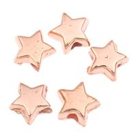 Koraliki Biżuteria akrylowe, Akryl, Gwiazdka, oryginalny kolor, 5x3mm, otwór:około 1mm, około 24995komputery/torba, sprzedane przez torba