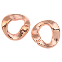 Akrylowy Pierścień łączący, Akryl, oryginalny kolor, 23x3mm, otwór:około 10x14mm, około 450komputery/torba, sprzedane przez torba