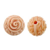 Бусины из ракушек крупных моллюсков, морское ушко, Форма цветка, резной, 10x10x10mm, отверстие:Приблизительно 1.5mm, 20ПК/Лот, продается Лот