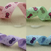 Grosgrain Ribbon with round spot pattern 25mm 50m/Bag