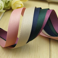 Polyester Ribbon, more colors for choice, 10mm, 50m/Bag, Sold By Bag