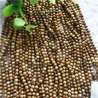 Natural Picture Jasper Beads, Round, different size for choice, Hole:Approx 1mm, Length:Approx 15.7 Inch, Sold By Bag