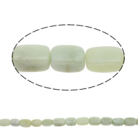 Green Aventurine Beads, Rectangle, natural, 25x14x15mm, Hole:Approx 1mm, Approx 16Pairs/Strand, Sold Per Approx 16 Inch Strand