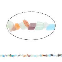 Goedkeuring Gemstone Beads, Edelsteen, Chips, multi-gekleurde, 4x3-5x8x6mm, Gat:Ca 1mm, Ca 185pC's/Strand, Per verkocht Ca 33 inch Strand