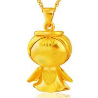 24 K Złoty Kolor Plated wisiorek, Mosiądz, Anioł, pozłacane 24-karatowym złotem, próżniowe ochronny kolor, 19x25mm, otwór:około 3x5mm, 10komputery/wiele, sprzedane przez wiele