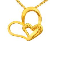 24 K Złoty Kolor Plated wisiorek, Mosiądz, Serce, pozłacane 24-karatowym złotem, próżniowe ochronny kolor & wybijane, 19x16mm, otwór:około 2-3mm, 10komputery/wiele, sprzedane przez wiele
