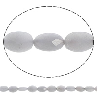 Dyed Jade Beads, Flat Oval, faceted, grey, 10x14x5mm, Hole:Approx 1mm, Length:Approx 15.5 Inch, 10Strands/Bag, Approx 28PCs/Strand, Sold By Bag