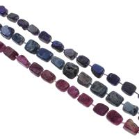 Druzy Koraliki, Agat kwarc lodowy, Naturalne, styl druzy, dostępnych więcej kolorów, 14x12x8-16x12x10mm, otwór:około 1mm, 20komputery/Strand, sprzedawane na około 14.5 cal Strand