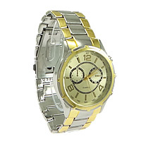 Unisex Wrist Watch, Zinc Alloy, plated, nickel, lead & cadmium free, 49x44mm, 23mm, Length:Approx 12 Inch, 10PCs/Lot, Sold By Lot