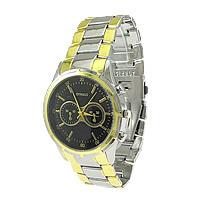 Zegarek unisex, Stop cynku, Powlekane, bez zawartości niklu, ołowiu i kadmu, 49x44mm, 23mm, długość:około 12 cal, 10komputery/wiele, sprzedane przez wiele