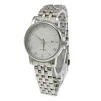 Unisex Wrist Watch, Stainless Steel, with Glass, original color, 35x33mm, 12mm, Length:Approx 12 Inch, 2PCs/Lot, Sold By Lot