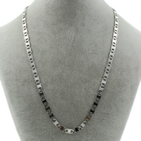 Stainless Steel Chain Necklace mariner chain original color 11x5x1mm Sold Per Approx 21 Inch Strand