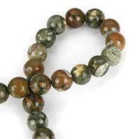 Jasper Kambaba Beads, Round, natural, different size for choice, Hole:Approx 1.5mm, Length:Approx 15.5 Inch, Sold By Lot