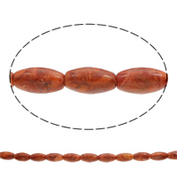 Natural Coral Beads Oval reddish orange 26x14mm-25x15mm Hole:Approx 1mm Approx 16PCs/Strand Sold Per Approx 15.5 Inch Strand