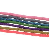 Бусины из полимерной глины, полимерный клей, Много цветов для выбора, 5x1mm, отверстие:Приблизительно 1.5mm, 10пряди/сумка, Приблизительно 310ПК/Strand, продается сумка