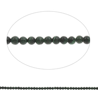 Natural Malachite Beads, Round, different size for choice, Hole:Approx 1mm, Length:Approx 15 Inch, Sold By Bag