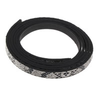 PU Cord, 8x2mm, Sold By m