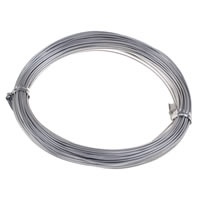Clearance Jewelry Supplies, aluminium wire, electrophoresis, 1mm, Sold By PC