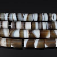 الخرز العقيق, مدغشقر العقيق, عمود, طبيعي, 18x15mm, حفرة:تقريبا 2mm, تباع بواسطة PC