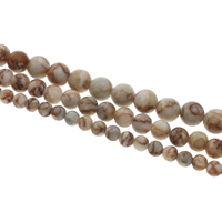 Rhodonite Beads, Round, different size for choice, Hole:Approx 1mm, Sold Per Approx 15 Inch Strand