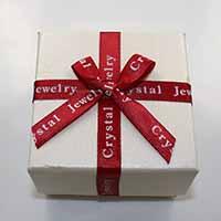 Kartonowe pudełko na zestaw biżuterii, Tektura, Pierścień & kolczyk & naszyjnik, ze Gąbka & Satynowa wstążka, Kwadrat, z listu wzór & z motywem kokardki, 75x75x48mm, 24komputery/wiele, sprzedane przez wiele