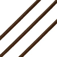 Sznurek skóra bydlęca, Sznur z krowiej skóry, czerwonawy, bez zawartości niklu, ołowiu i kadmu, 2mm, długość:około 100 m, sprzedane przez PC