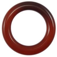Wisior z czerwonym agatem, Agat czerwony, Pączek, Naturalne, 34x34x6mm, otwór:około 22mm, 10komputery/wiele, sprzedane przez wiele