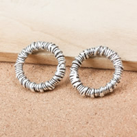 Zinc Alloy Linking Ring Donut antique silver color plated nickel lead   cadmium free 29x5mm Hole:Approx 20mm 100PCs/Lot