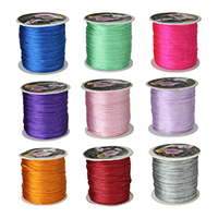 Nylon Koord, meer kleuren voor de keuze, 1mm, 70m/PC, Verkocht door PC