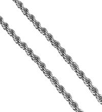 Łańcuch Lina ze stali nierdzewnej, Stal nierdzewna, lina łańcucha, oryginalny kolor, 2mm, 50m/wiele, sprzedane przez wiele
