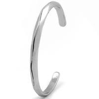 титан браслет-манжеты, Женский, внутренний диаметр:Приблизительно 44mm, длина:Приблизительно 5.5 дюймовый, 3ПК/Лот, продается Лот