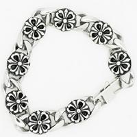 Men Bracelet, Titanium Steel, for man & blacken, 15mm, Sold Per Approx 8.8 Inch Strand