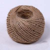 Wax Cord Waxed Linen Cord brown 2mm 30m/PC