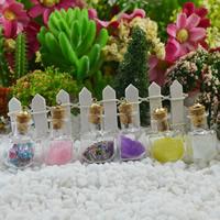 Кулон стеклянный глобус, Стеклянный, с железо под залог & древевяная пробка & Стеклянный бисер, Бутылка, разноцветный, 22x35mm, отверстие:Приблизительно 1-2mmmm, продается PC