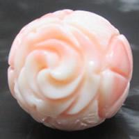 морское ушко Бусины, Форма цветка, резной, разный размер для выбора, отверстие:Приблизительно 1-2mm, 10ПК/сумка, продается сумка