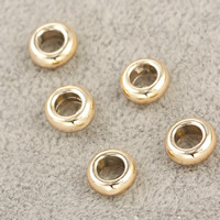 Zinc Alloy Spacer Beads Rondelle UV plating lead   cadmium free 7x3mm Hole:Approx 3.5mm 30PCs/Bag