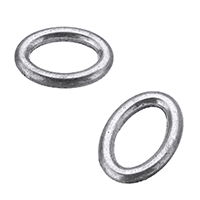 Zinc Alloy Linking Ring antique silver color plated nickel lead   cadmium free 17x12x3mm Hole:Approx 11x7mm 1000PCs/Lot