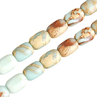 Aqua Terra Jasper Beads, Oval, natural, different size for choice, Hole:Approx 1.8mm, Length:Approx 16 Inch, Sold By Lot