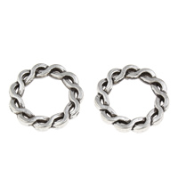 Zinc Alloy Linking Ring Donut antique silver color plated lead   cadmium free 20x3mm Hole:Approx 13mm 100G/Bag