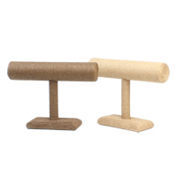 Linen Bracelet Display, with Cardboard, more colors for choice, 245x180x40mm, Sold By PC