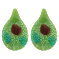 Clearance Jewelry Pendants, Lampwork, handmade, 30x49x14mm, Hole:Approx 5mm, Sold By PC