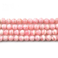 Natural Rhodonite Beads, Round, different size for choice, Grade AAA, Sold Per Approx 15.5 Inch Strand