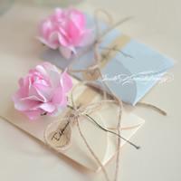 открытки, бумага, с пеньковый трос & Закручивать шелк & Железо, разноцветный, 60x90mm, 10ПК/сумка, продается сумка