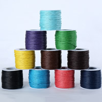 Wax Cord Waxed Linen Cord with plastic spool 1.5mm Approx 80m/Spool