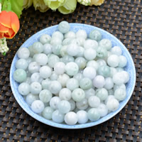 Natural Jadeite Beads, Round, 10mm, Hole:Approx 0.6mm, 100PCs/Lot, Sold By Lot