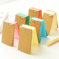 бумага Книга Конец, Прямоугольная форма, Много цветов для выбора, 90x55mm, 5ПК/сумка, продается сумка